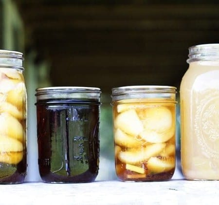 Three In One Pears: Canning Ginger Pears, Dark Ginger Pear Syrup, and Pear Juice | Make Ahead Mondays