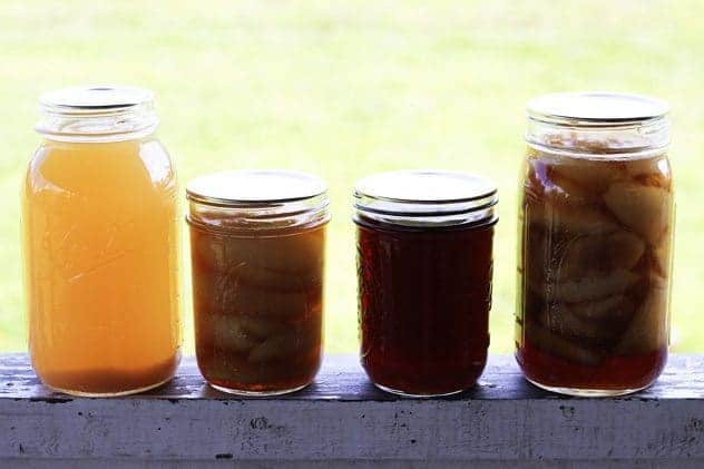 Three In One Pears: Canning Ginger Pears, Dark Ginger Pear Syrup and Pear Juice | Make Ahead Monday