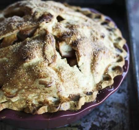 High Peaks Deep Dish Apple Pie