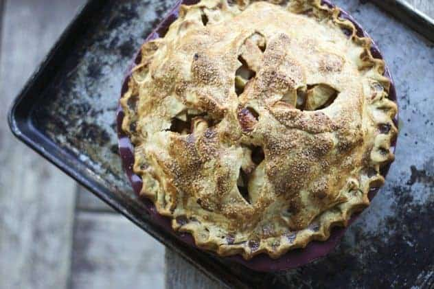 High Peaks Deep Dish Apple Pie and a {GIVEAWAY!}