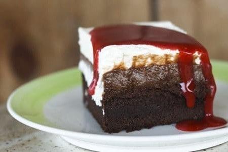 Zombie Apocalypse Tres Leches Cake   Chocolate Tres Leches Cake