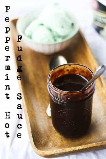 Peppermint Hot Fudge Sauce