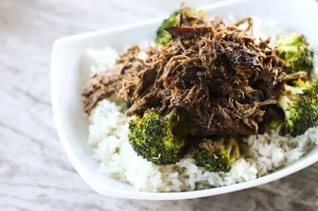 Slow-Cooker Asian Beef | Make Ahead Mondays