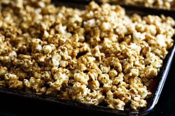 Salted Caramel Corn | Make Ahead Mondays
