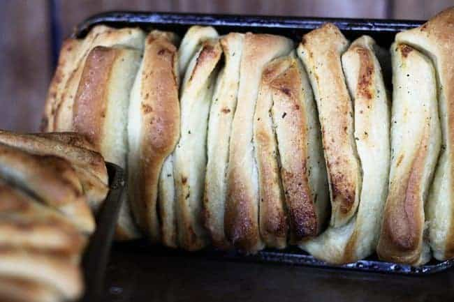Ranch Bake-In-Slices Bread