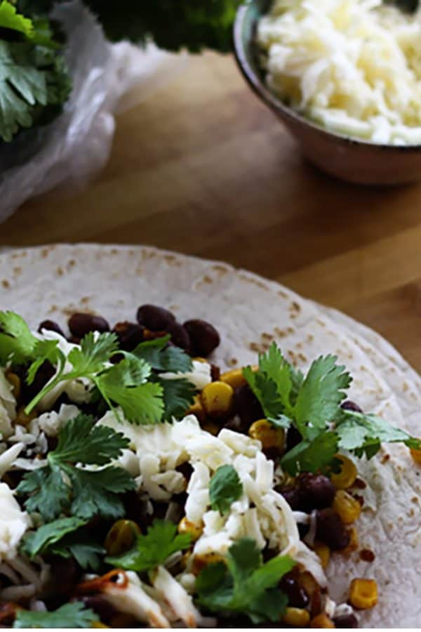 Black bean Corn Tacos from foodiewithfamily.com