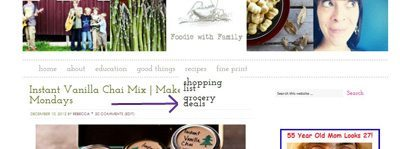 recipe tab capture