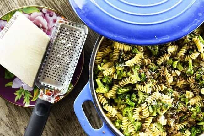 Bulk Italian Sausage and Broccoli Sausage Pasta | Make Ahead Mondays