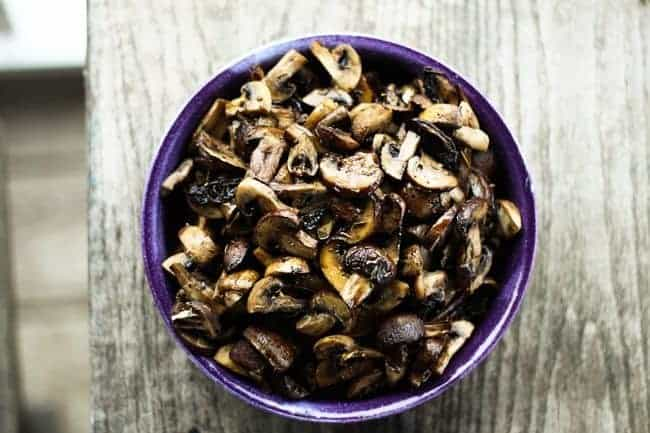 Roasted Mushrooms with Thyme from Foodie with Family