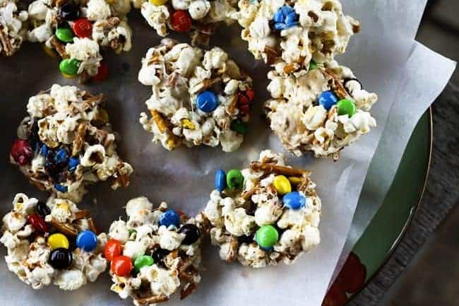 Sweet and Salty No-Bake Popcorn Cookies | The Croods