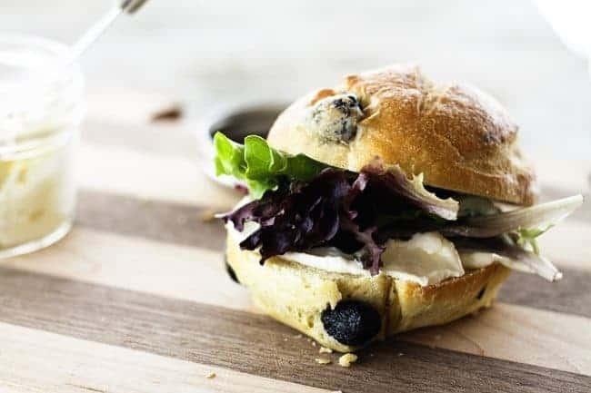 Black Olive Sandwich Rolls