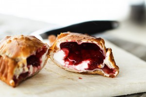 Quick & Dirty Raspberry Cheesecake Fried Pies from Foodie with Family.