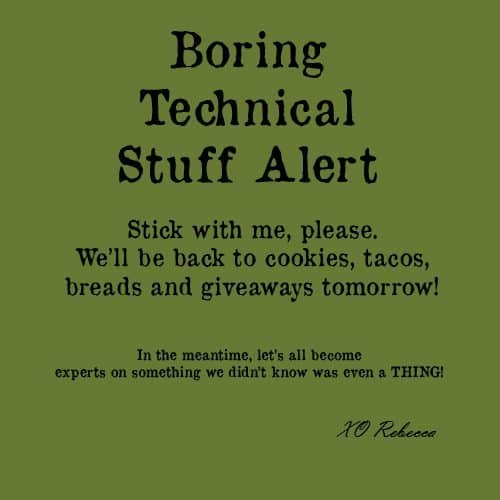 boring technical alert