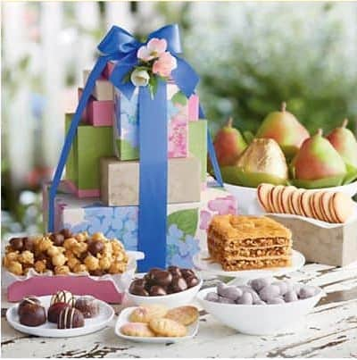 Harry & David Mother's Day Tower of Treats Gift Deluxe Giveaway | www.foodiewithfamily.com