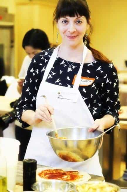 Rebecca Lindamood (a.k.a. Foodie with Family) at King Arthur Flour's Blog & Bake ™ Event | www.foodiewithfamily.com