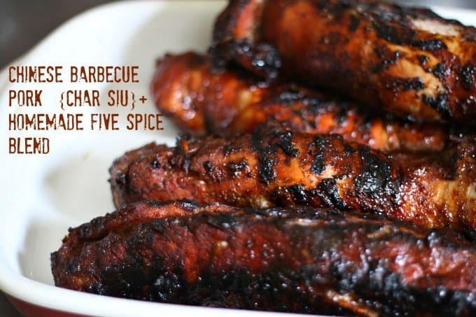 Chinese Barbecued Pork (Char Siu), Homemade Five Spice