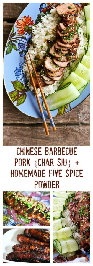Chinese Barbecue Pork {Char Siu} made without food colouring!