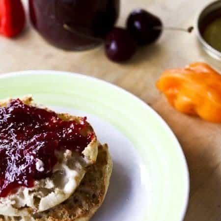 Cherry Habanero Lime Jam | www.foodiewithfamily.com