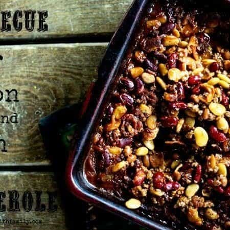 Barbecue Beef, Bacon, and Bean Casserole | Make Ahead Mondays