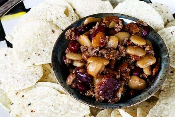 Barbecue Beef Bacon and Bean Casserole for #MakeAheadMondays | www ...