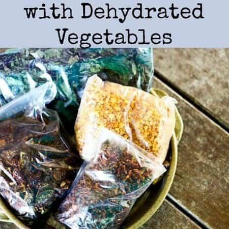 Adding Nutrition with Dehydrated Vegetables (a.k.a. Hiding Vegetables) | Make Ahead Monday