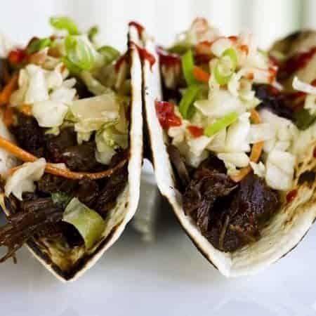 Slow-Cooker Korean Beef Tacos | Make Ahead Mondays