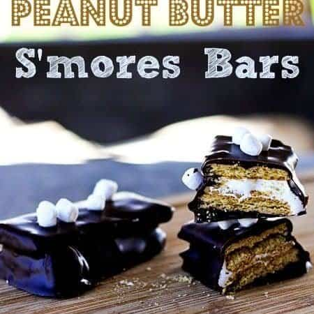 Inside Out Peanut Butter S'mores Bars