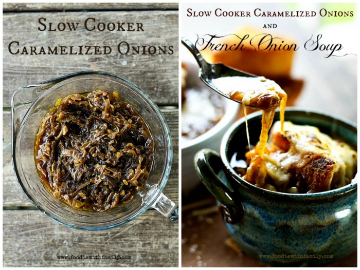 Slow-Cooker Caramelized Onions & French Onion Soup | Make Ahead ...