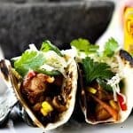 Slow Cooker Barbecue Chicken Tacos from www.foodiewithfamily.com