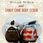 Homemade Sugar Body Scrubs for gift giving at www.foodiewithfamily.com