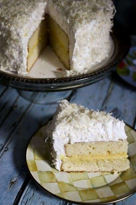 Coconut Lemon Cake on foodiewithfamily.com