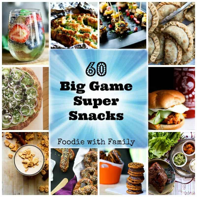 60 Big Game Super Snacks