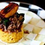 Pulled Pork Habanero Cornbread Stacks #ComfortFood #SuperBowl #GameDay #Entertaining #Recipes