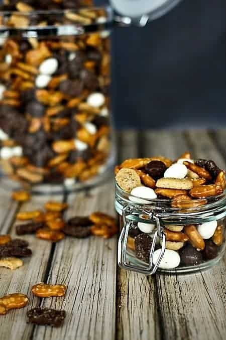 Fish Eyes Snack Mix Sweet and Salty #snacks