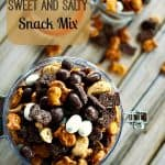 Fish Eyes Sweet and Salty Snack Mix #Snacks foodiewithfamily.com