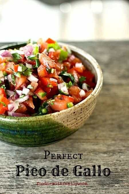 Perfet Pico de gallo #Mexicanfood #condiment #fresh
