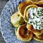 Vareniki: Buttery Mashed Potato and Caramelized Onion Stuffed Dumplings like pierogies foodiewithfamily.com