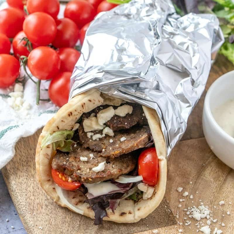 Homemade Gyro Meat and Gyros - Foodie with Family