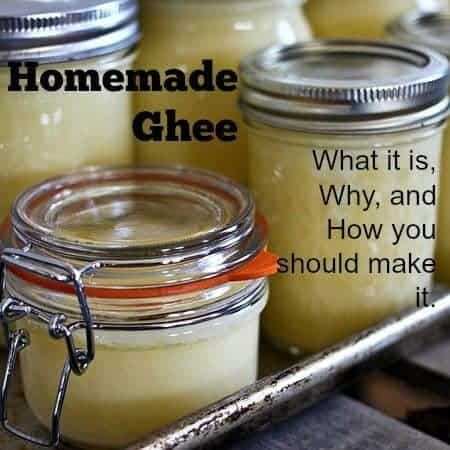 Homemade Ghee: How and Why You Should Make It, and What It Is