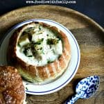 Fish Chowder made with Cod and Dill foodiewithfamily.com #chowder #soup #Lent