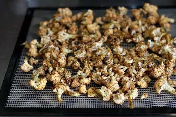 Making Cauliflower Popcorn on foodiewithfamily.com. It might be grain-free, gluten-free, vegan, and paleo, but it's awesome!