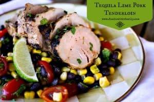 Tequila Lime Pork Tenderloin #pinkpork