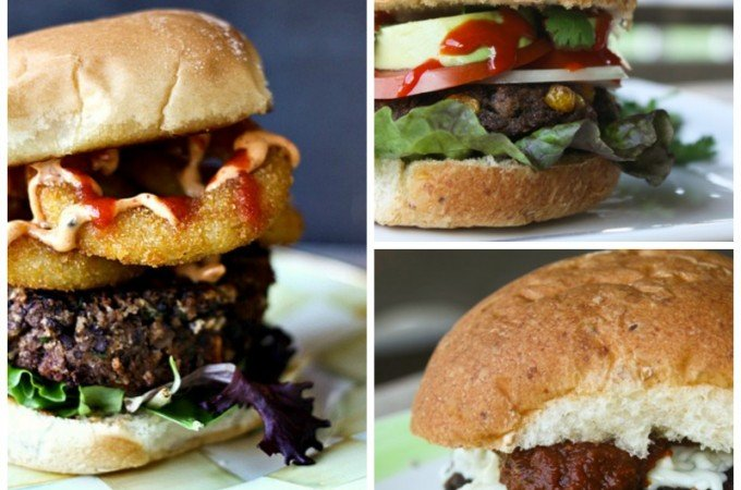 Meatless Burgers on Foodie with Family