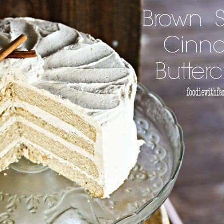 Brown Sugar Cinnamon Buttercream Frosting Recipe