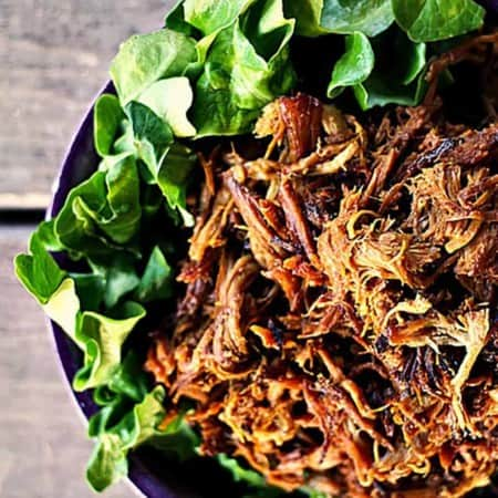 Slow-Cooker Honey Mustard Pulled Pork