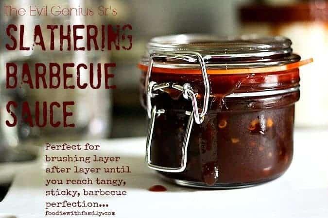 Evil Genius, Sr.'s Slathering Barbecue Sauce