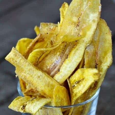 Fried Plantain Chips from Foodiewithfamily.com