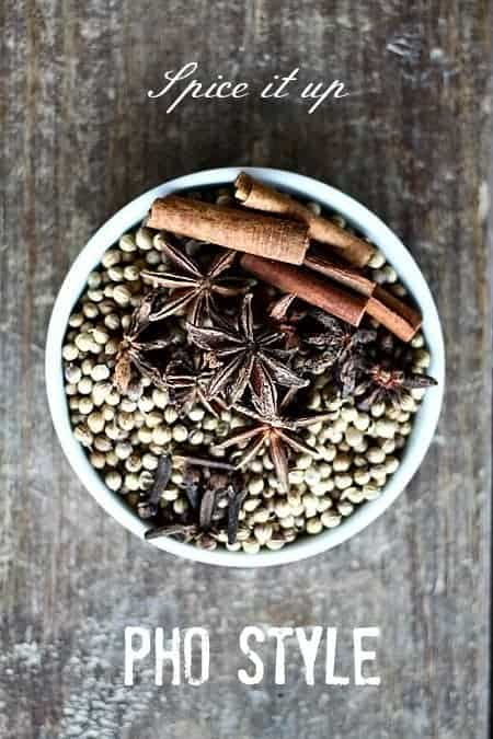 Spices for pho on foodiewithfamily.com