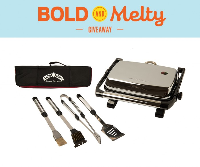 Land O'Lakes Bold and Melty Giveaway on foodiewithfamily.com