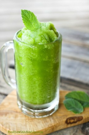 Mojito Icees {High Octane and Mocktail Versions} from foodiewithfamily.com